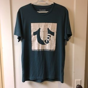 True Religion / men's graphic t-shirt